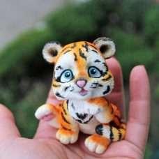 Тигр 3д