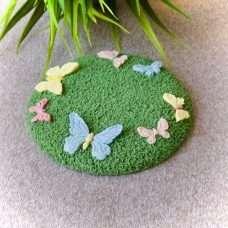 Подложка бабочки на полянке 1