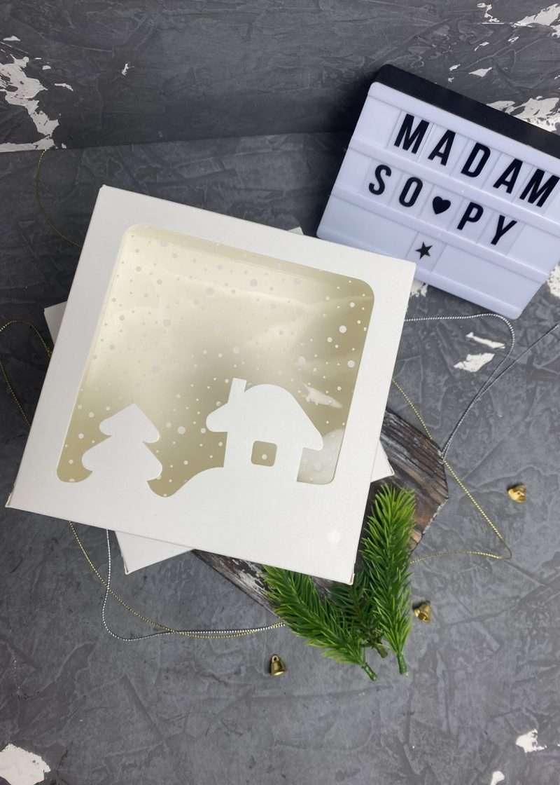 Коробка Белая Окно 150х150х60