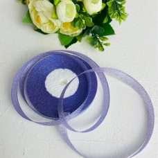 Лента Парча фиолетовая